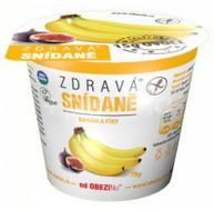 Obezin zdravá snídaně - Banán a fíky 78g