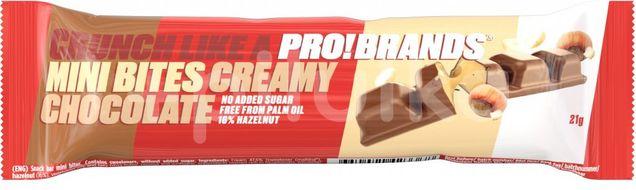 PROBRANDS Mini Bites Creamy Chocolate 21g