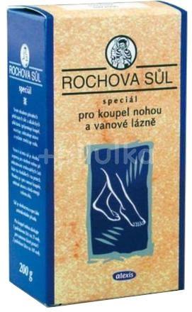 Rochova sůl speciál pro koupel nohou 200g