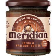 Meridian Lískooříškové máslo s kakaem 170g