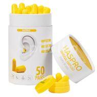 Haspro Tube50 špunty do uší, žluté 50 párů