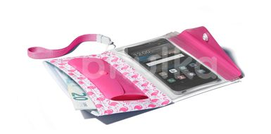 """Cellularline Voděodolné pouzdro s peněženkou Voyager Pochette pro telefony do velikosti 5,2"""" růžové"""