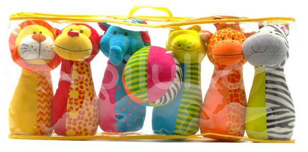 Fiesta Crafts Zvířecí kuželky