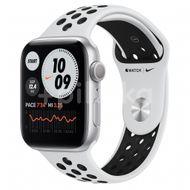 Apple Watch Nike S6 GPS, 44mm Silver Aluminium Case, Pure Platinum/Black Nike Sport Band, Regular 1ks