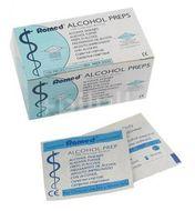 Alcohol Preps dezinfekční tampony - čtverečky 100ks