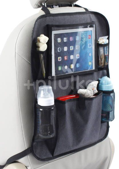 Baby Dan Kapsář do auta s kapsou na tablet Luxury Grey