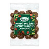 Diana Company Maliny mrazem sušené v mléčné čokoládě 100g