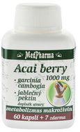 MedPharma Acai berry 1000mg +Garcinia cambogia+Jablečný pektin 67 kapslí