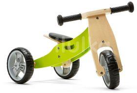 Nicko Dřevěné odrážedlo 2v1 mini - zelené