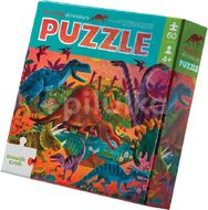 Crocodile Creek Foil Puzzle, Dinosauři 60ks