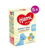 Hami Batolecí mléko s vanilkovou příchutí od uk. 24. měsíce 5x600g