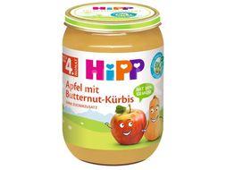 HiPP BIO Jablka s máslovou dýní 190g