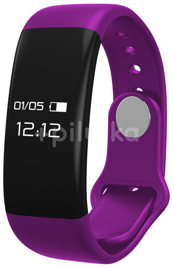 CUBE1 Smart band H30 Purple Fitness náramek