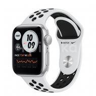 Apple Watch Nike SE GPS, 40mm Silver Aluminium Case, Pure Platinum/Black Nike Sport Band, Regular 1ks