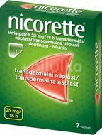 Nicorette® invisipatch 25mg/16h, transdermální náplast 7ks