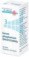 No.3 Ferrum phosphoricum DHU 80 tablet D6, D12