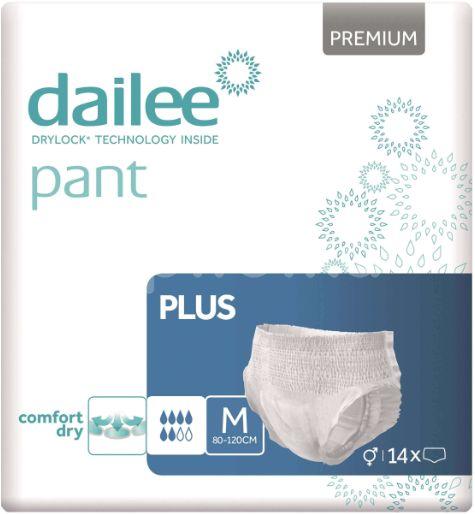 Dailee Natahovací kalhotky Pant Premium Plus M 14ks
