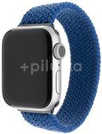 FIXED Elastický nylonový řemínek Nylon Strap pro Apple Watch 42/44/45mm modrý velikost XS