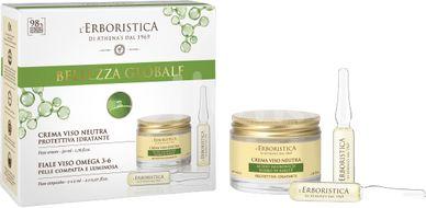 Erboristica kosmetická sada hydratační krém, sérum 2ks