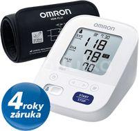 Digitální tonometr OMRON M3 Comfort Intelli 4 roky záruka
