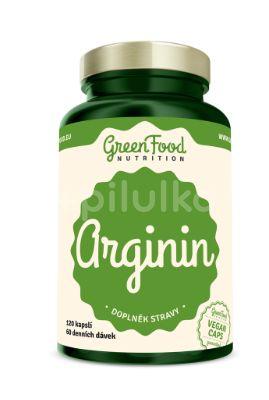 GreenFood Nutrition Arginin 120kapslí