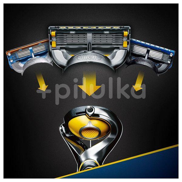 Gillette Fusion ProShield Holicí strojek stechnologií Flexball