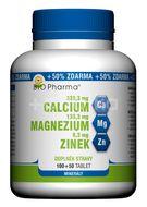 BIO Pharma Calcium+Magnesium+Zinek 100+50 tablet