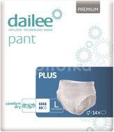 Dailee Natahovací kalhotky Pant Premium Plus L 14ks