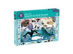 Mudpuppy Puzzle hledej a najdi, Arktický život 64ks