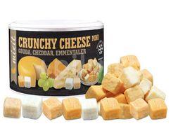 Mixit Mix křupavých sýrů: Gouda, Čedar, Ementál 135g