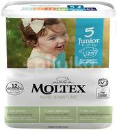 Moltex Dětské plenky Pure & Nature Junior (11–25kg) 25ks