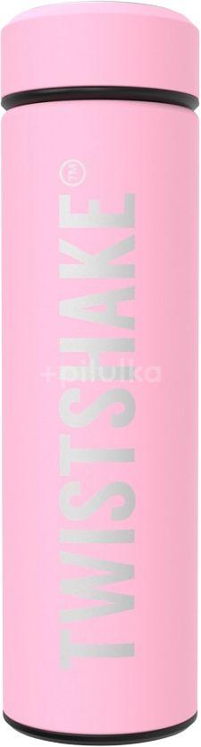 Twistshake Termoska Hot or Cold Pastělově růžová 420ml