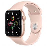 Apple Watch SE GPS, 44mm Gold Aluminium Case, Pink Sand Sport Band, Regular 1ks