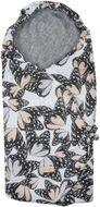 Beztroska zavinovací deka do autosedačky Butterflies