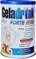 Geladrink FORTE HYAL práškový nápoj broskev 420g