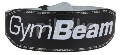 Fitness opasek Ronnie – GymBeam black – velikost XL