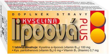 Naturvita Kyselina lipoová Plus 60 tablet