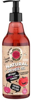 Planeta Organica Přírodní sprchový gel - Organická třešeň a divoká rajčata 500ml