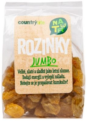 Country Life Rozinky jumbo 100g