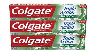 Colgate Zubní pasta Triple Action Xtra Fresh 3x75ml