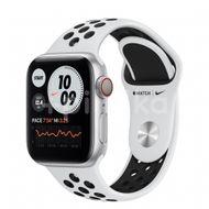 Apple Watch Nike S6 GPS + Cellular, 40mm Silver Aluminium Case, Pure Platinum/Black Nike Sport Band, Regular 1ks