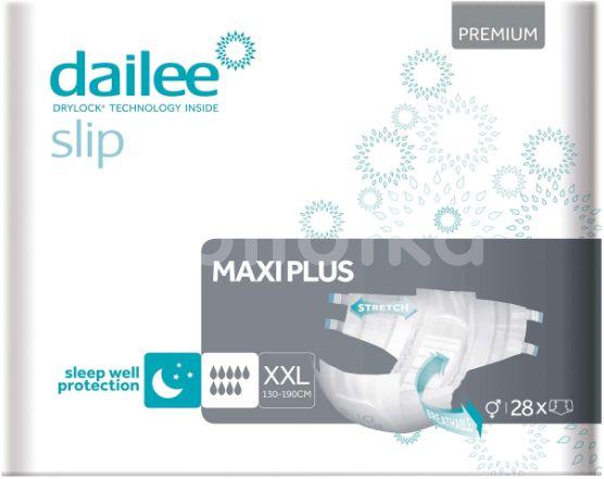Dailee Zalepovací kalhotky Slip Premium Maxi Plus XXL 28ks