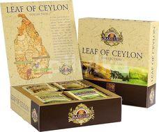 BASILUR Leaf of Ceylon Assorted 40 gastro sáčků