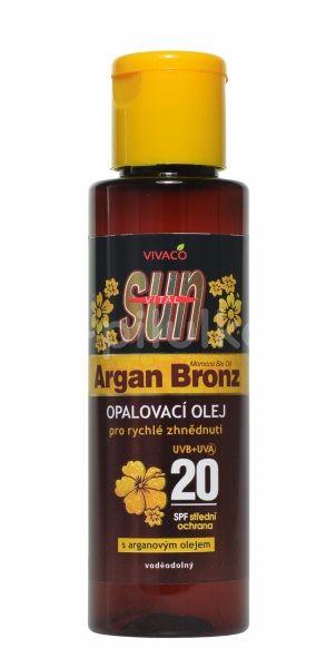 Vivaco SUN Arganový opalovací olej OF20 100ml