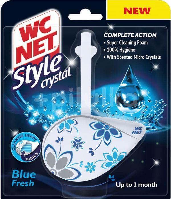 WC NET Style Crystal Blue Fresh závěs 36,5g