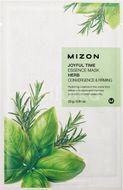 Mizon Joyful Time Essence Mask Herb Plátýnková maska se zpevňujícím účinkem 23g