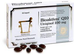 Bioaktivní Q10 Uniqinol 100mg 30 kapslí