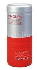 Tenga Honítko Double Hole Cup červené