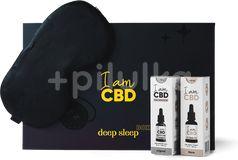 I am CBD Dárkový Deep sleep box - 2x CBD kapky + škraboška