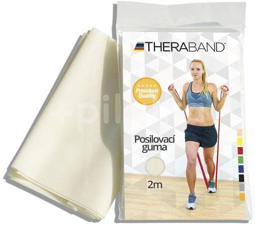 Thera-Band Posilovací guma 2m béžová - velmi slabá